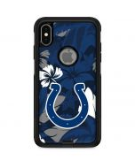 Indianapolis Colts Tropical Print Otterbox Commuter iPhone Skin