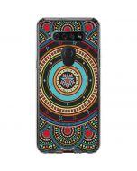 Infinite Circle Colored LG K51/Q51 Clear Case