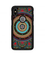 Infinite Circle Colored Otterbox Commuter iPhone Skin