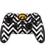 Iowa Hawkeyes Chevron Print PlayStation Scuf Vantage 2 Controller Skin