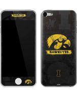 Iowa Hawkeyes Distressed Logo Apple iPod Skin