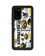 Iowa Hawkeyes Pattern Galaxy S20 Waterproof Case