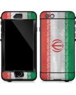 Iran Flag Distressed LifeProof Nuud iPhone Skin