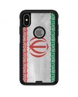 Iran Flag Distressed Otterbox Commuter iPhone Skin