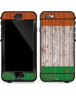 Ireland Flag Dark Wood LifeProof Nuud iPhone Skin