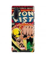 Iron Fist Hero For Hire Galaxy Note 10 Pro Case