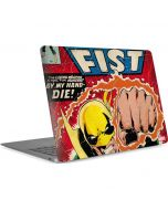 Iron Fist Hero For Hire Apple MacBook Air Skin