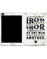 Iron Sharpens Iron Apple iPad Skin