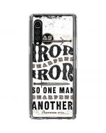 Iron Sharpens Iron LG Velvet Clear Case