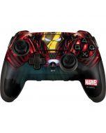 Ironman Close up PlayStation Scuf Vantage 2 Controller Skin