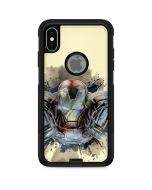 Ironman Flying Otterbox Commuter iPhone Skin