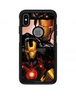 Ironman in Battle Otterbox Commuter iPhone Skin
