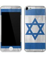 Israel Flag Distressed Apple iPod Skin