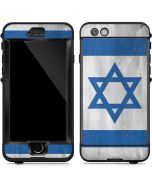 Israel Flag Distressed LifeProof Nuud iPhone Skin