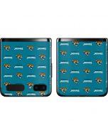 Jacksonville Jaguars Blitz Series Galaxy Z Flip Skin