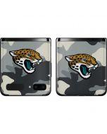 Jacksonville Jaguars Camo Galaxy Z Flip Skin