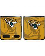 Jacksonville Jaguars Double Vision Galaxy Z Flip Skin