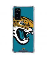 Jacksonville Jaguars Large Logo Galaxy S20 FE Clear Case