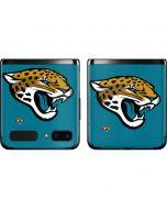 Jacksonville Jaguars Large Logo Galaxy Z Flip Skin