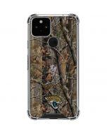 Jacksonville Jaguars Realtree AP Camo Google Pixel 5 Clear Case