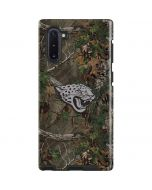 Jacksonville Jaguars Realtree Xtra Green Camo Galaxy Note 10 Pro Case