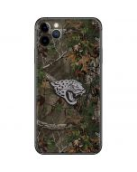 Jacksonville Jaguars Realtree Xtra Green Camo iPhone 11 Pro Max Skin