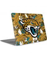 Jacksonville Jaguars Tropical Print Apple MacBook Air Skin