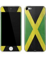 Jamaica Flag Distressed Apple iPod Skin