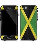 Jamaica Flag Distressed LifeProof Nuud iPhone Skin