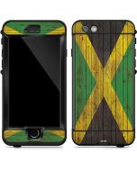 Jamaican Flag Dark Wood LifeProof Nuud iPhone Skin