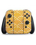 Japanese Wave Nintendo Switch Joy Con Controller Skin