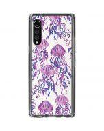 Jellyfish LG Velvet Clear Case
