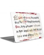 John 3:16 Apple MacBook Air Skin