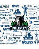 Minnesota Timberwolves Historic Blast Apple iPod Skin