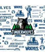 Minnesota Timberwolves Historic Blast Nintendo GameCube Controller Skin