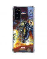 Jonathan Blaze The Ghost Rider Galaxy S20 FE Clear Case