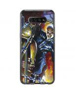 Jonathan Blaze The Ghost Rider LG K51/Q51 Clear Case