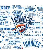 Oklahoma City Thunder Historic Blast Xbox One Console Skin