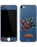 Justice League Heroes Apple iPod Skin