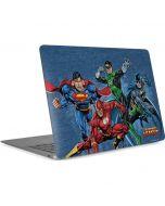 Justice League Heroes Apple MacBook Air Skin