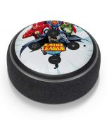 Justice League Team Power Up Blue Amazon Echo Dot Skin