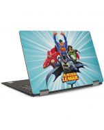 Justice League Team Power Up Blue Dell XPS Skin