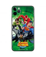Justice League Team Power Up Green iPhone 11 Pro Max Skin