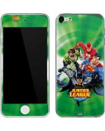 Justice League Team Power Up Green Apple iPod Skin