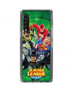Justice League Team Power Up Green LG Velvet Clear Case
