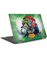 Justice League Team Power Up Green Dell XPS Skin