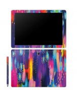 Kaleidoscope Brush Stroke Galaxy Book 10.6in Skin