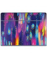 Kaleidoscope Brush Stroke Galaxy Book Keyboard Folio 10.6in Skin