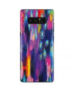 Kaleidoscope Brush Stroke Galaxy Note 8 Skin