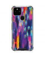 Kaleidoscope Brush Stroke Google Pixel 5 Clear Case